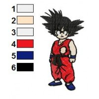 Dragon Ball Z Embroidery Design